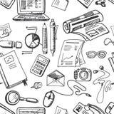 Simbols del concepto del negocio inconsútiles Fotos de archivo