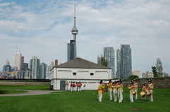 Simcoe Day in Toronto (119). Toronto celebrates Simcoe Day in August at Fort York Stock Photography