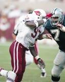 Simeon Rice, guardalinee difensivo di Arizona Cardinals immagine stock