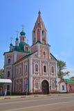Simeon Stylites u. x27; s-Kirche mit belltower in Pereslavl-Zalessky, Russland Stockfotografie
