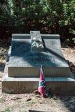 Simeon Theus Cemetery Statuary Statue Bonaventure Cemetery Savannah Georgia fotografía de archivo