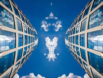 Simetría fotografía de archivo libre de regalías