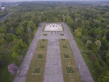 Simetría concreta urbana Fotos de archivo libres de regalías