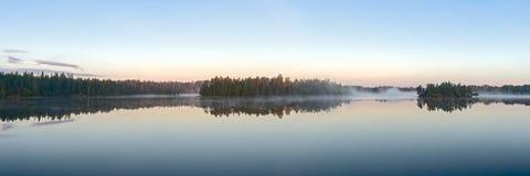 Simetría de la mañana Fotografía de archivo
