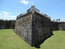 Simetría del fuerte de Acapulco Imagen de archivo libre de regalías
