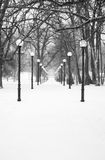 Simetría del invierno imagen de archivo libre de regalías