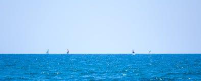 Simetría del mar fotografía de archivo libre de regalías
