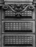 Simetría en la decoración floral foto de archivo libre de regalías