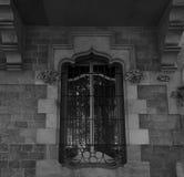 Simetría perfecta de la ventana fotografía de archivo libre de regalías