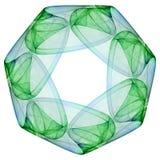 Simetria afortunada ilustração royalty free