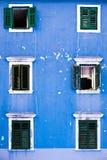 Simetria azul Fotos de Stock Royalty Free