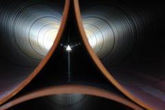 Simetria da tubulação Fotos de Stock