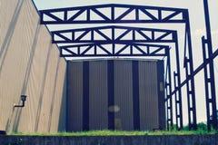 Simetria industrial foto de stock