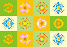 simetry άνοιξη Στοκ Φωτογραφίες