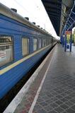 Simferopol-Bahnstation Stockbild