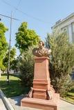 Simferopol, Crimea - 9 de mayo de 2016: Busto - Serene Highness Prince Foto de archivo libre de regalías