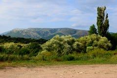 Simferopol. De vallei van kizil-Koba. De Krim Stock Fotografie