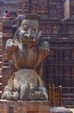 Simha-gaja al mandir di Surya Immagini Stock