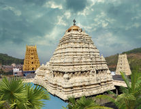Simhachalam Narasimha świątynia Zdjęcia Royalty Free