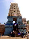 Simhachalam tempel på Visakhapatnam Royaltyfria Bilder