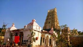 Simhachalam tempel på Visakhapatnam Royaltyfri Bild