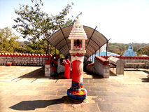 Simhadwar - entrée de temple image stock
