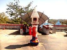 Simhadwar - Tempel-Eingang Stockbild