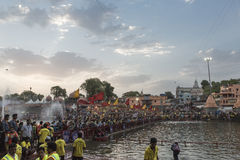 Simhasth玛哈Kumbh Ujjain, 2016年 库存图片