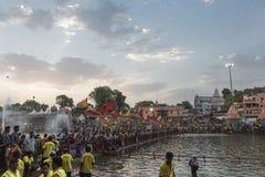 Simhasth Maha Kumbh Ujjain, 2016 Immagini Stock
