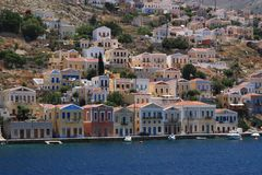 Simi Island Royalty Free Stock Photos