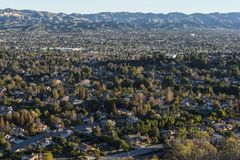 Simi Valley California Imagen de archivo libre de regalías