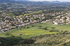 Simi Valley California Foto de Stock