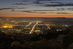 Simi Valley California Mountain View Stockfotos