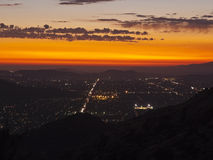 Simi Valley California - Night Stock Photography