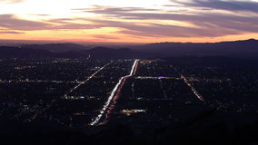 Simi Valley Dusk Time Lapse Stock Photos