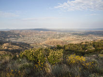 Simi Valley View Royaltyfria Bilder
