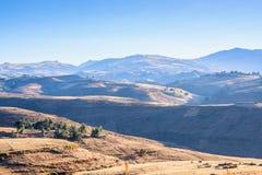 Simien山在埃塞俄比亚 免版税库存照片