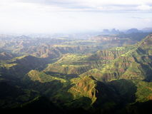 Simien Berge lizenzfreies stockbild