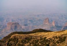 Simien g?r park narodowy w Etiopia obrazy royalty free