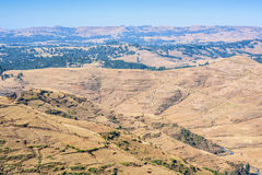 Simien Mountains in Ethiopia Stock Photos