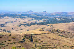 Simien Mountains in Ethiopia Royalty Free Stock Photos