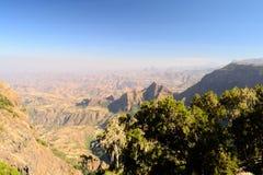 Simien Mountains landscape Stock Images