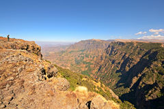 Simien Mountains landscape Stock Photography
