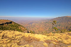 Simien Mountains landscape Royalty Free Stock Photography