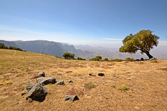 Simien Mountains landscape Stock Photos