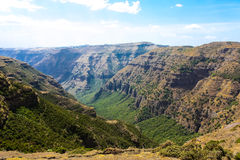 Simien Mountains Stock Photo
