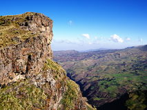Simien mountains Royalty Free Stock Image
