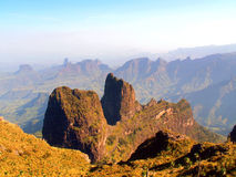 Simien Nationalpark stockfotos