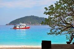 similan安达曼群岛的海运 免版税库存照片