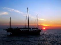 similan海岛的liveaboard 免版税图库摄影